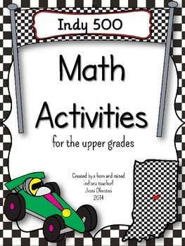 Indy 500 Math Activities