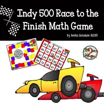 Indy 500 Math Game
