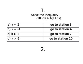 Inequalitie Stations