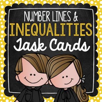 Inequalities Task Cards