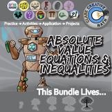 Inequalities & Absolute Value -- Algebra Curriculum Unit Bundle