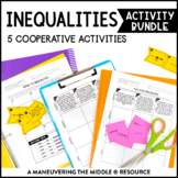 Inequalities Activity Bundle