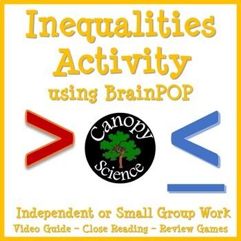 Inequalities Activity using BrainPOP