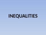 Inequalities Alligator with Animations
