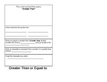 Inequalities Booklet