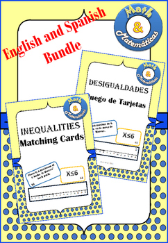 Inequalities Bundle English and Spanish