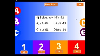 Inequalities Competition
