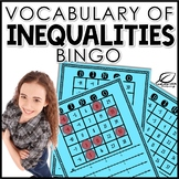 Inequalities Vocabulary Game