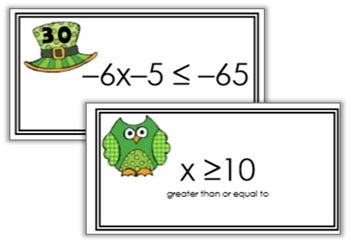 Solving Two-Step Inequalities Matching Game