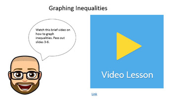 Inequalities - Google Form & 4 Interactive Video Lessons