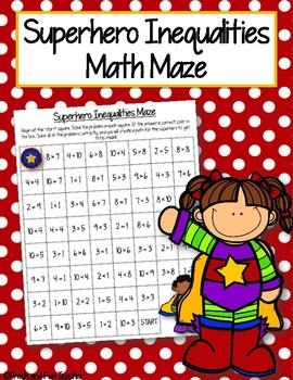 Inequalities Math Maze {Freebie}