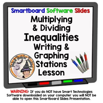 Multiplying Dividing Inequalities Multiply and Divide Graph Smart with Stations