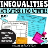 Inequalities Activities