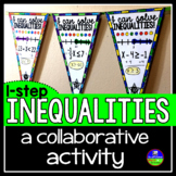 One-Step Inequalities Math Pennant Activity