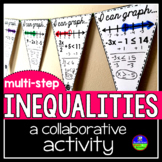 Multi-step Inequalities Pennant Activity