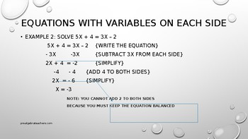 PreAlgebra: Inequalities Powerpoint Lesson Plans BUNDLE