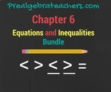 PreAlgebra: Inequalities Practice Problems BUNDLE