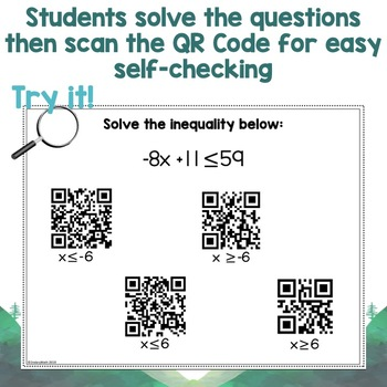 Inequalities QR Code Stations