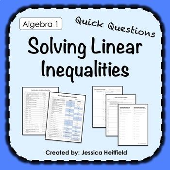 Solving Inequalities Activity: Fix Common Mistakes!