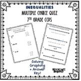 Inequalities Quiz