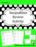Inequalities Review Activity