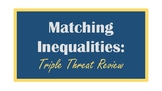 Inequalities Collaborative Review Activity