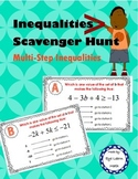 Inequalities Scavenger Hunt