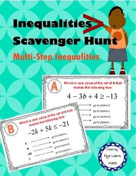Inequalities Scavenger Hunt