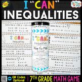 7th Grade Math Game   Inequalities