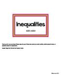 Inequalities Task Cards 6.EE.5, 6.EE.8