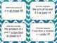 Inequalities Task Cards Bundle Set
