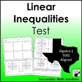 Inequalities Test (A3D, A5B)