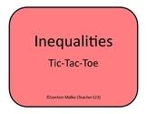 Inequalities Tic-Tac-Toe