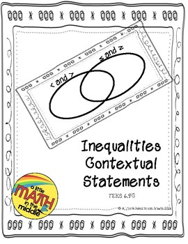Inequalities Verbal Statements Foldable
