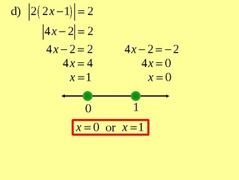 Inequalities and Absolute Value