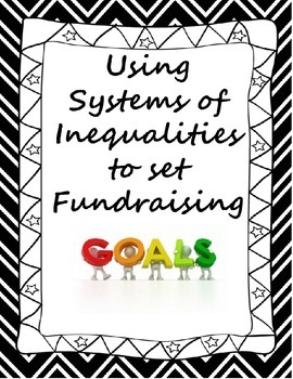 Systems of Linear Inequalities Real Life Application Activ