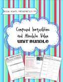 Inequalities and Systems of Inequalities - Secondary One Unit Bundle
