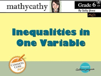 Inequalities in One Variable