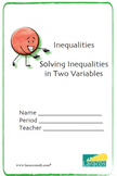 Booklet: Inequalities in Two Variables (English/Spanish)