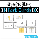 Inequalities in Two Variables Matching Task Cards