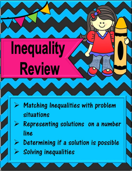 Inequalities practice or review