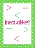 Inequalities (with Numbers & Pictures)