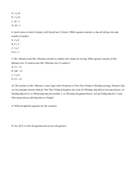 Inequalities with Word Problems