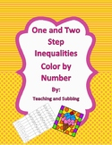 Inequality Color by Number