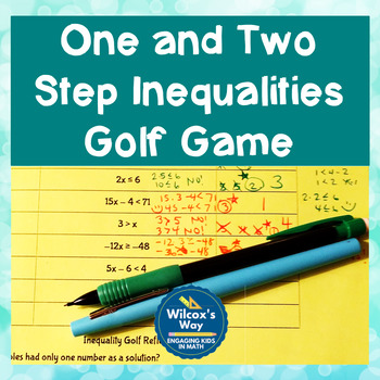 Solving and Graphing Inequalities in One Variable Game Activity