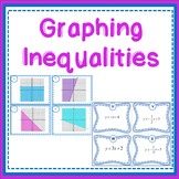 Inequality Graphing Matching Task Cards