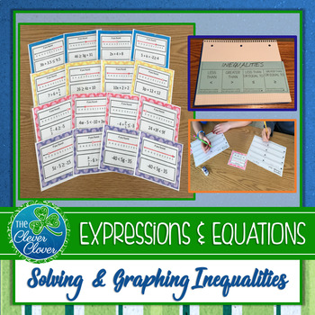 Inequality Foldable and Scavenger Hunt