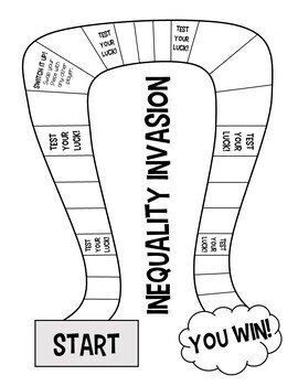 Inequality Invasion! A Solving Inequalities Board Game