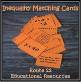 One-Step Inequalities Matching Cards