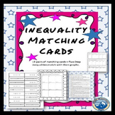 Inequality Matching Cards with Graphs